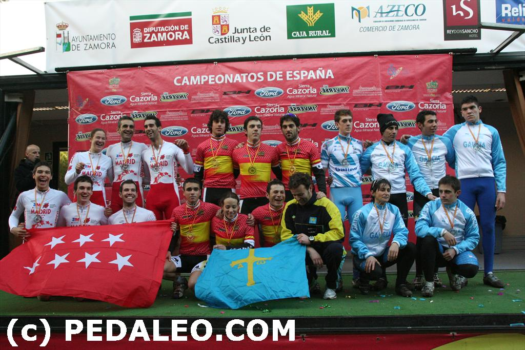 ASTURIAS GANA EL ORO EN TEAM RELAY CX 2011