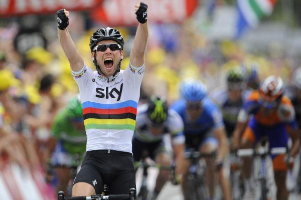 Glorioso sprint de Cavendish