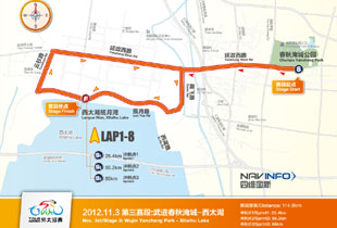 Tour of Taihu Lake, China (3ª etapa)
