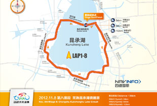 Tour of Taihu Lake, China (8ª y ult etapa)