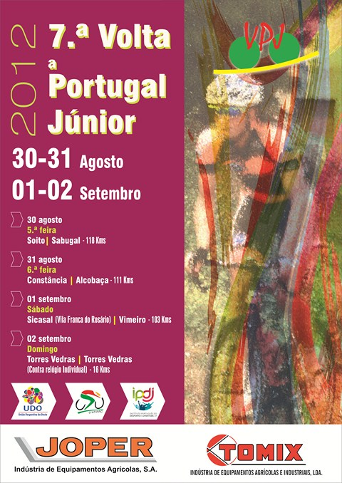 7ª Volta a Portugal Júnior 2012